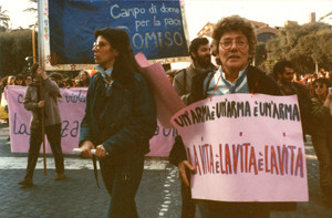 disarmo manifestazioni delle donne Archivia. Herstory femminismo a roma e Lazio dagli anni 70 a oggi