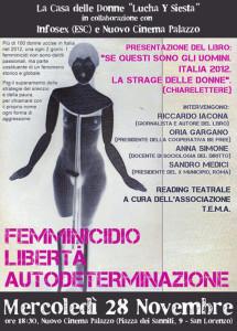 Casa donne Lucha Siesta herstory  femminismo storia collettivi gruppi Roma Lazio femminicidio autodeterminazione