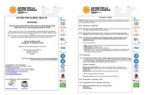 workshop Aidos Associazione italiana donne sviluppo herstory  femminismo luoghi donne storia gruppi Roma