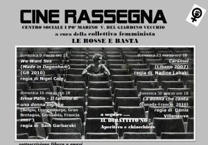 herstory - gruppi - rosse e basta - Marzo 2014 - Rassegna cinema