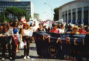 world pride casa donna affi herstory  femministe lesbiche  luoghi storia collettivi gruppi Roma manifestazioni