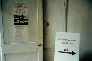 casa internazionale donna affi herstory  femministe lesbiche  luoghi storia collettivi gruppi Roma