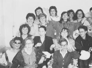 donne allo sbaraglio herstory  femministe lesbiche  luoghi donne storia collettivi manifestazioni gruppi Roma
