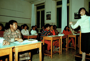 scuola serale omcvi donne capoverdianeherstory  femministe luoghi storia collettivi gruppi Roma