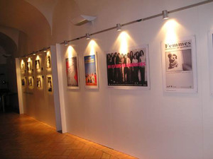 mostra casa internazionale donne herstory  femminismo lesbismo luoghi storia gruppi Roma