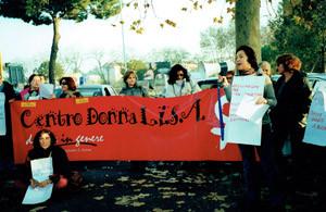 Donne in genere Centro donna Lisa collettivo femminista herstory  luoghi donne  manifestazione legge 194