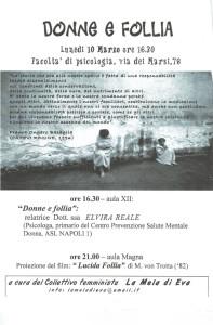 herstory  femminismo femministe lesbiche  luoghi donne storia manifestazioni gruppi Roma mela eva Collettivo studentesse università iniziativa