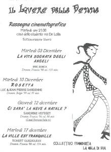 herstory  femministe lesbiche storia manifestazioni gruppi Roma mela eva Collettivo studentesse università  rassegna cinematografica