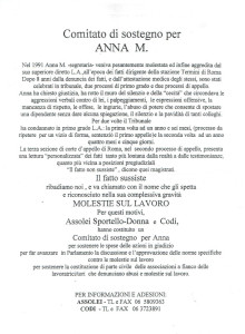 volantino assolei casa donna herstory  femministe luoghi storia collettivi gruppi Roma