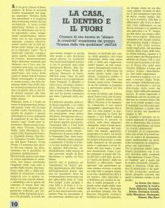 mostra incontri Scienza della vita quotidiana casa donna herstory  femministe luoghi storia collettivi gruppi Roma