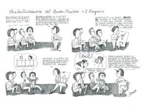 vignetta sara Buon Pastore occupato herstory  femministe lesbiche  luoghi donne storia collettivi manifestazioni gruppi Roma