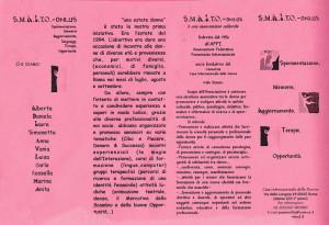 presentazione smalto volantino casa donna herstory  femministe luoghi storia collettivi gruppi Roma