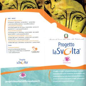 progetto la svolta differenza donna volantino herstory  femministe luoghi storia collettivi gruppi Roma