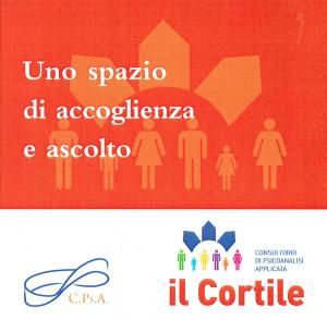 volantino cortile consulenza psicologica donne herstory  femministe luoghi storia collettivi gruppi Roma