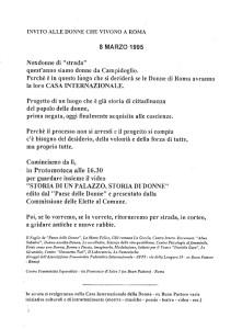 invito affi herstory  femministe lesbiche  luoghi donne storia collettivi manifestazioni gruppi Roma