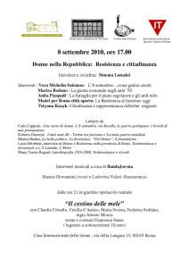 incontro casa internazionale donne herstory  femminismo lesbismo luoghi storia gruppi Roma