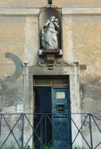 ingresso Buon Pastore herstory  femministe lesbiche  luoghi donne storia collettivi manifestazioni gruppi Roma