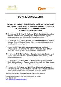 incontro proiezione denne eccellenti archivia biblioteca herstory  femminismo lesbismo luoghi storia gruppi Roma