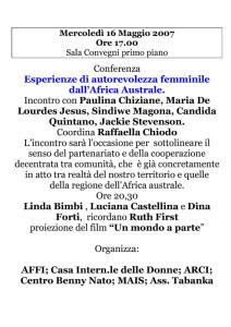conferenza casa internazionale donne herstory  femminismo lesbismo luoghi storia gruppi Roma