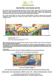 progetto murales casa internazionale donne herstory  femminismo lesbismo luoghi storia gruppi Roma