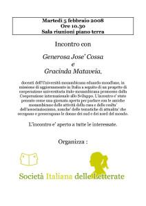 incontro sil società italiana letterate casa donna herstory  femministe luoghi storia collettivi gruppi Roma