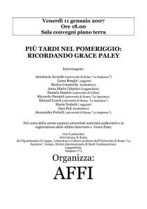 incontro affi casa internazionale donne herstory  femminismo lesbismo luoghi storia gruppi Roma