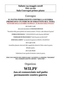 convegno wilpf casa donna affi herstory  femministe luoghi storia collettivi gruppi Roma