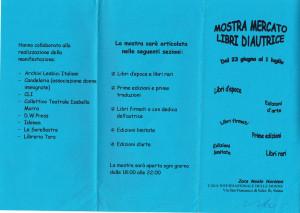 mostra mercato zora neale hurston casa donna affi herstory  femministe luoghi storia collettivi gruppi Roma manifestazioni