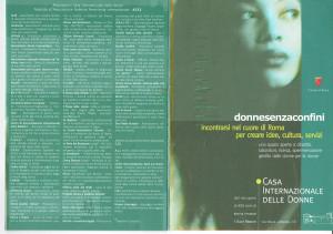 casa internazionale donne associazioni herstory  femminismo lesbismo luoghi storia gruppi Roma