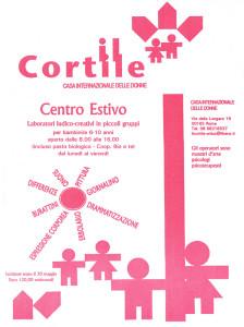centro estivo bambine cortile consulenza psicologica donne herstory  femministe luoghi storia collettivi gruppi Roma