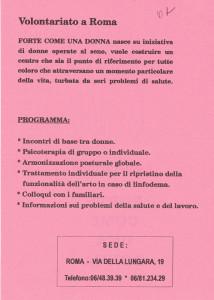 presentazione forte donna casa internazionale donne herstory  femminismo luoghi storia gruppi Roma