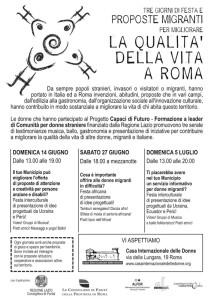 progetto formazione casa internazionale donne herstory  femminismo lesbismo luoghi storia gruppi Roma
