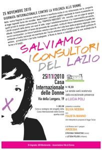 programma consultori casa internazionale donne herstory  femminismo lesbismo luoghi storia gruppi Roma