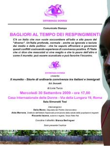presentazione libro differenza donna volantino herstory  femministe luoghi storia collettivi gruppi Roma