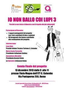 incontro flyer assolei casa donna herstory  femministe luoghi storia collettivi gruppi Roma