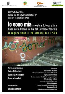 mostra archivia biblioteca casa internazionale donne herstory  femminismo lesbismo luoghi storia gruppi Roma