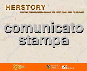 comunicato stampa Press area herstory luoghi delle donne a roma e lazio Archivia